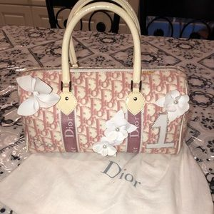 Christian Dior Pink No. 1 Flower Tote Bag